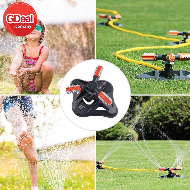 GDeal Automatic Spraying Sprinkler With Three Different Modes High Quality Garden Helper
