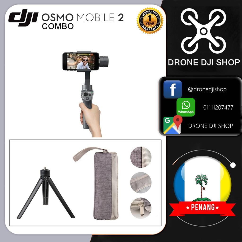 DJI Osmo Mobile 2 Combo (Ready Stock)