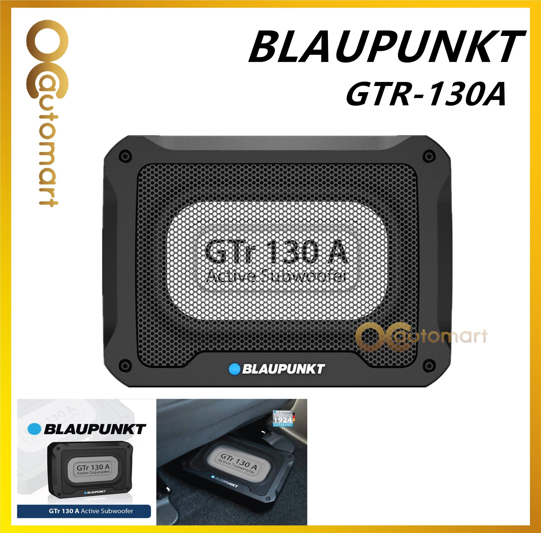 Blaupunkt GTR 130A Active Subwoofer Compact Design & Solid Audio output power 300 Watts Underseat Woofer