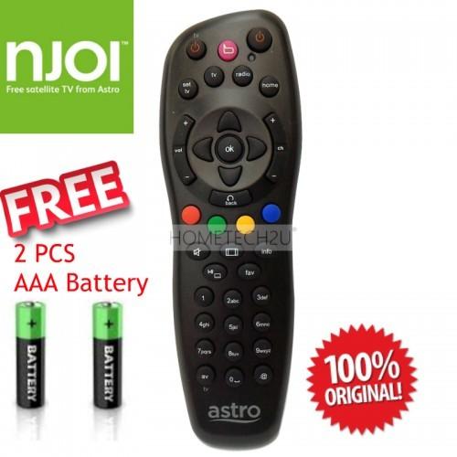 ORIGINAL Astro Njoi Remote Control (100% Genuine)-Free AAA Battery