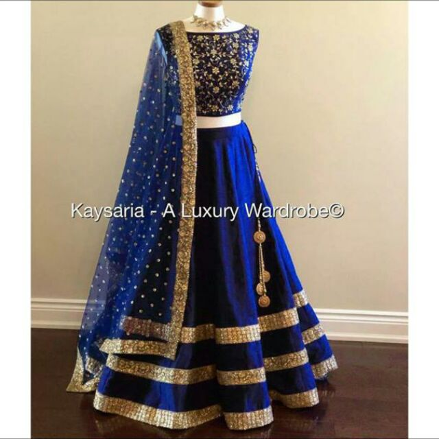 New design in lehenga choli taffeta silk with taffeta blouse piece with dupatt(unstitched)