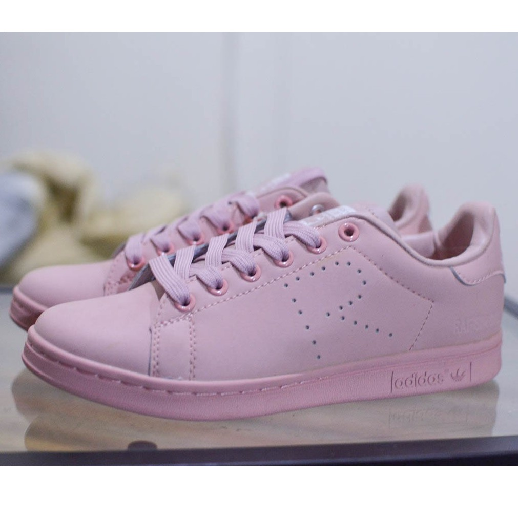 [READYSTOCK] ADIDAS STAN SMITH NUDE PINK SNEAKERS SHOES FASHION MEN WOMEN KASUT