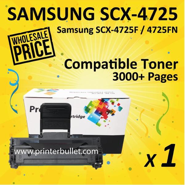 SAMSUNG 4725 / SCX4725 / SCX-4725 High Quality Compatible Laser Toner Cartridge