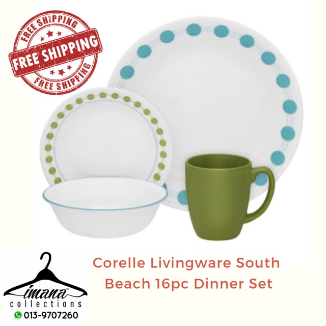 Corelle Livingware South Beach 16pc