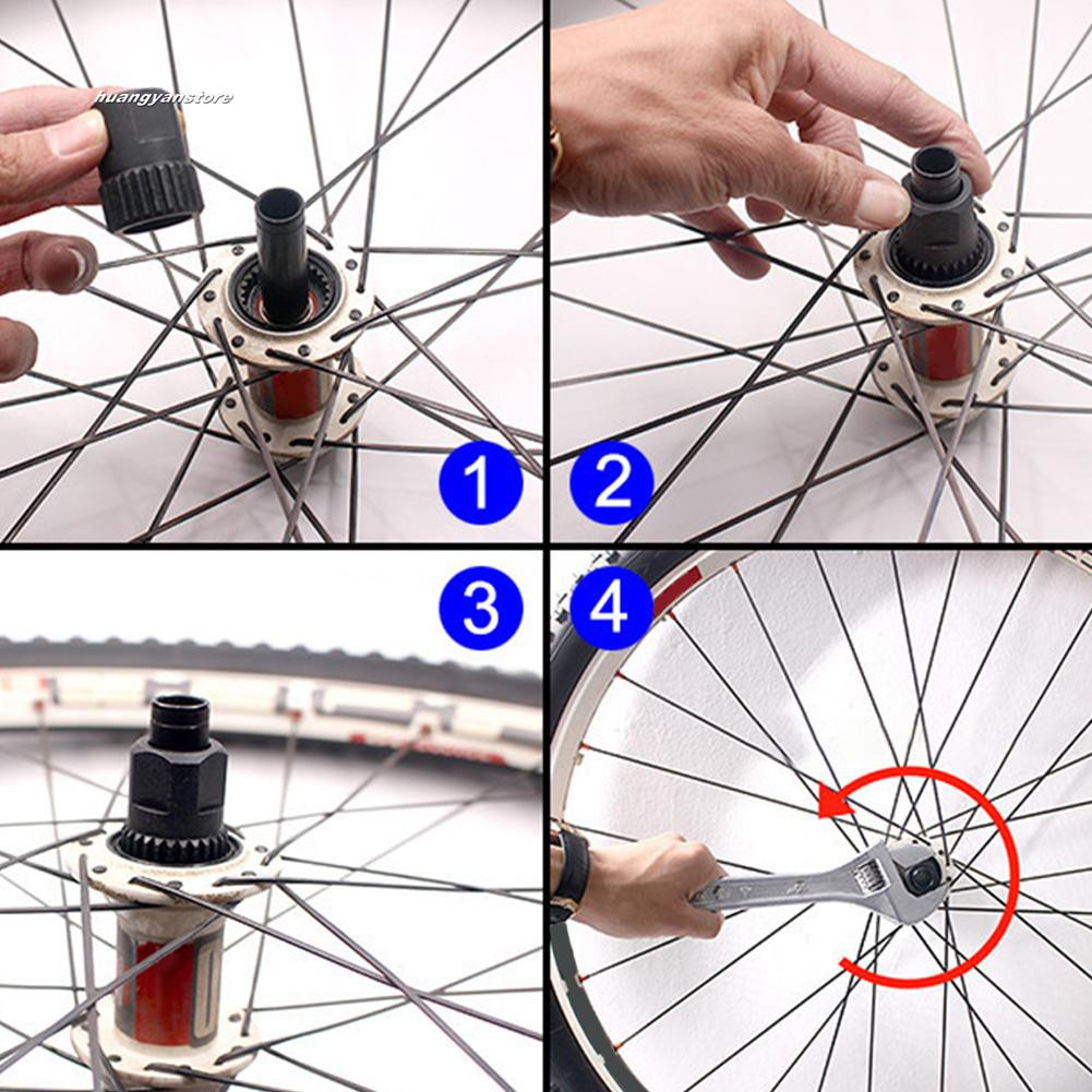 Freewheel Flywheel DT Swiss Hub Remover Bike Disassembly Tool Bicycle Kits