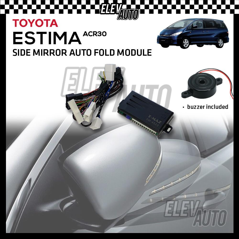 Side Mirror Auto Fold Module Toyota Estima ACR30 00-05