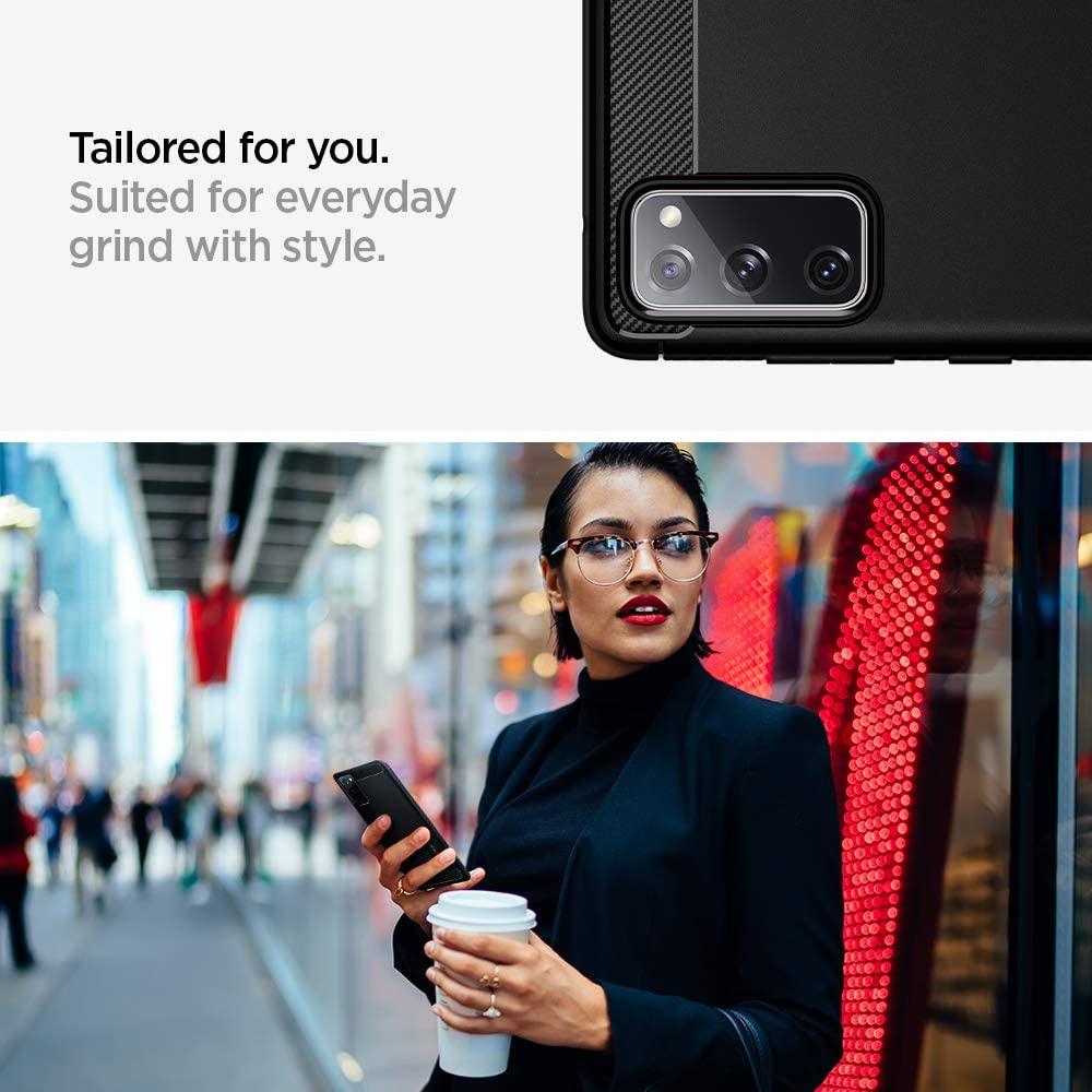 ORIGINALSPIGEN Rugged Armor Samsung Galaxy S20 FE Case