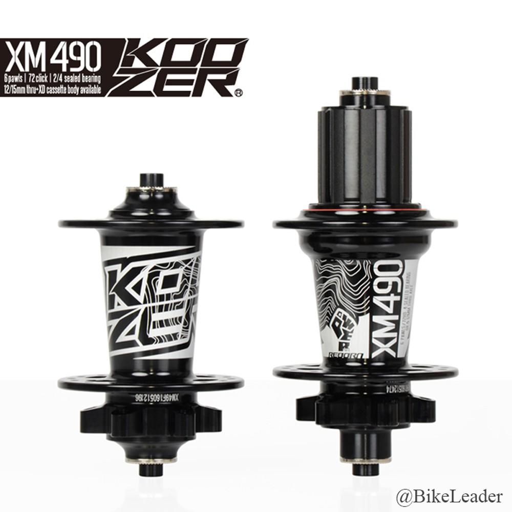 28Hole Hubs Koozer XM490 72HD MTB Disc Brake Aluminum 2+4 Bearing XD Axle Thr QR