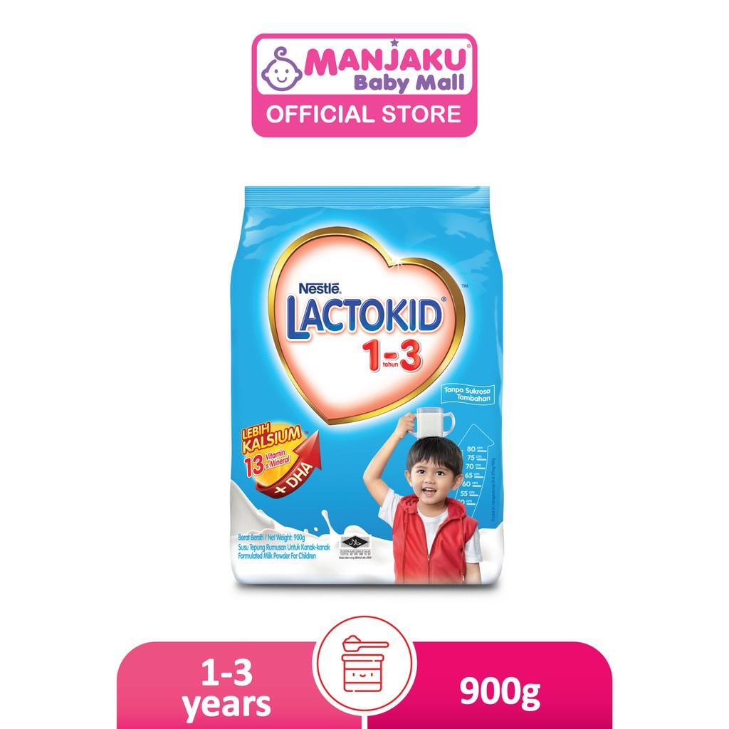 Nestle Lactokid 1-3 Years (900g)