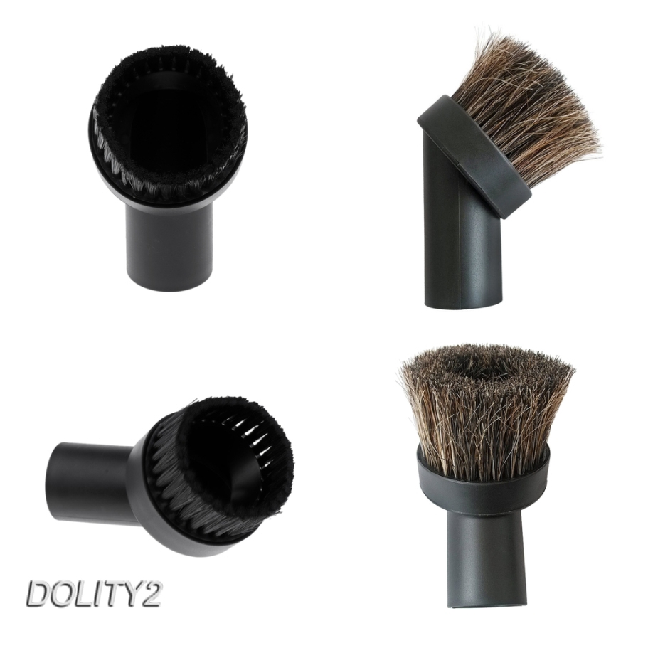 Universal Round Horsehair Vacuum Cleaner Dust Dusting Brush fit Most Vacuum with 32mm/1.25