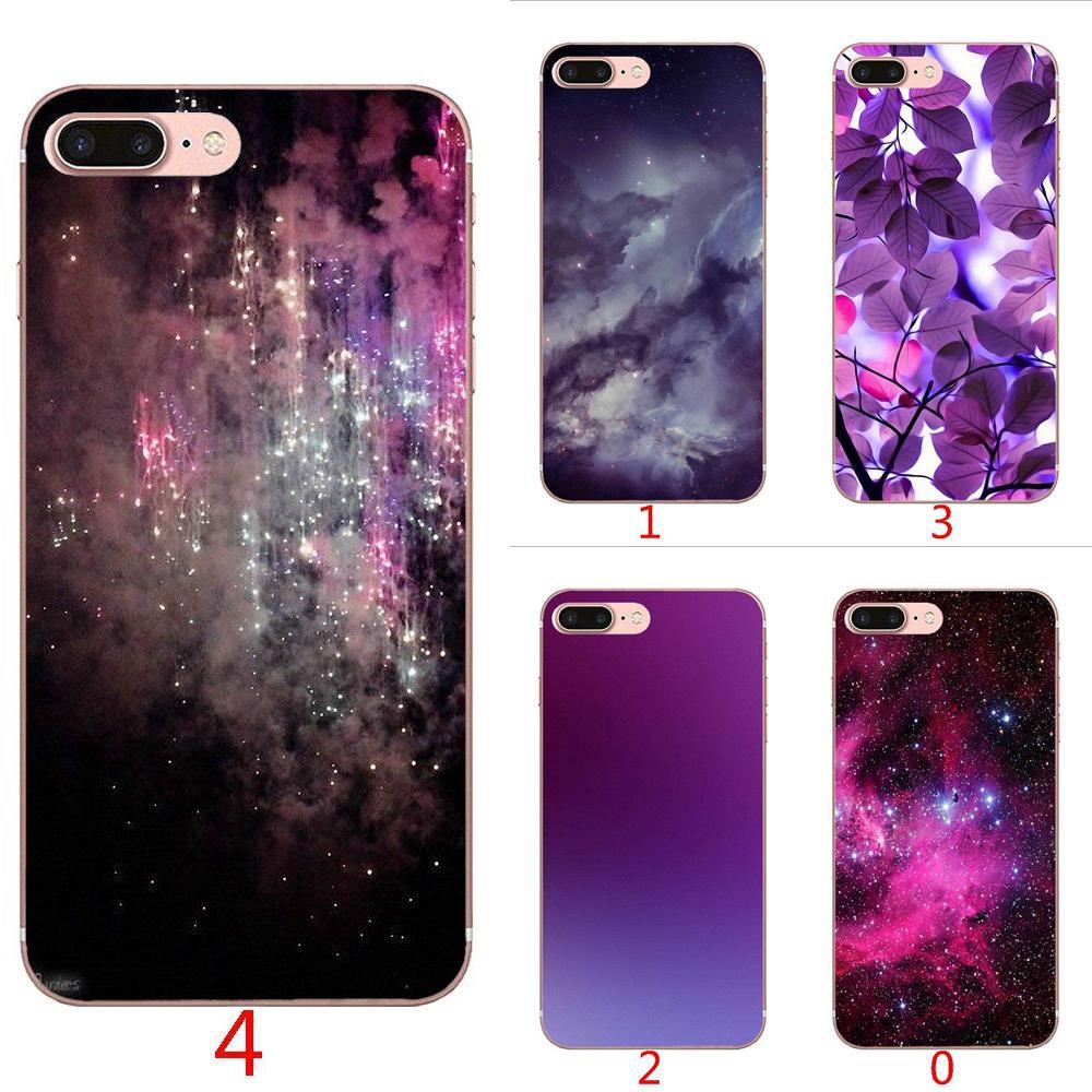 competitive price a1429 0c46c iPhone 7 8 Plus X XS Max XR Soft Case Dark Purple Glitter