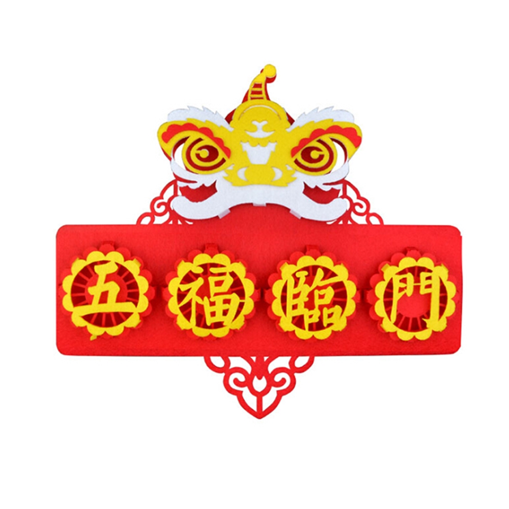 Chinese New Year Couplets Diy Home 2020 New Year Decorations Shopee Malaysia