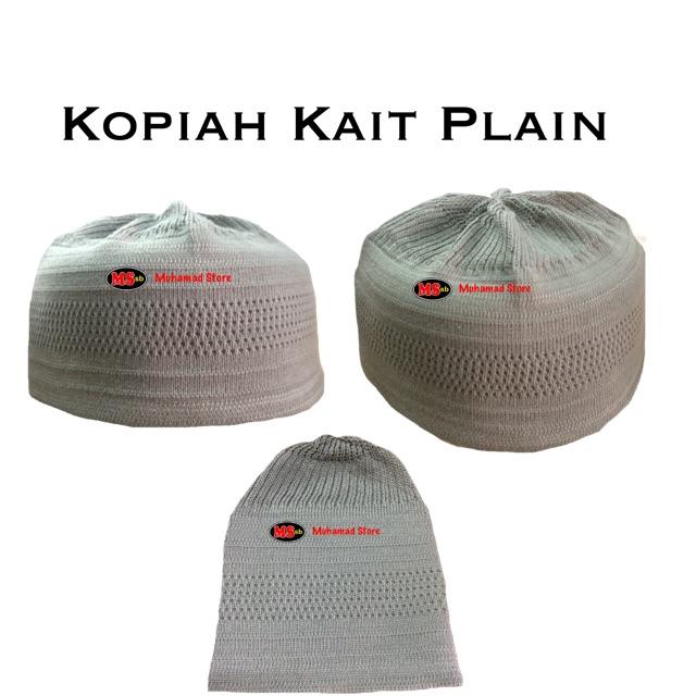 Kopiah Kait Plain