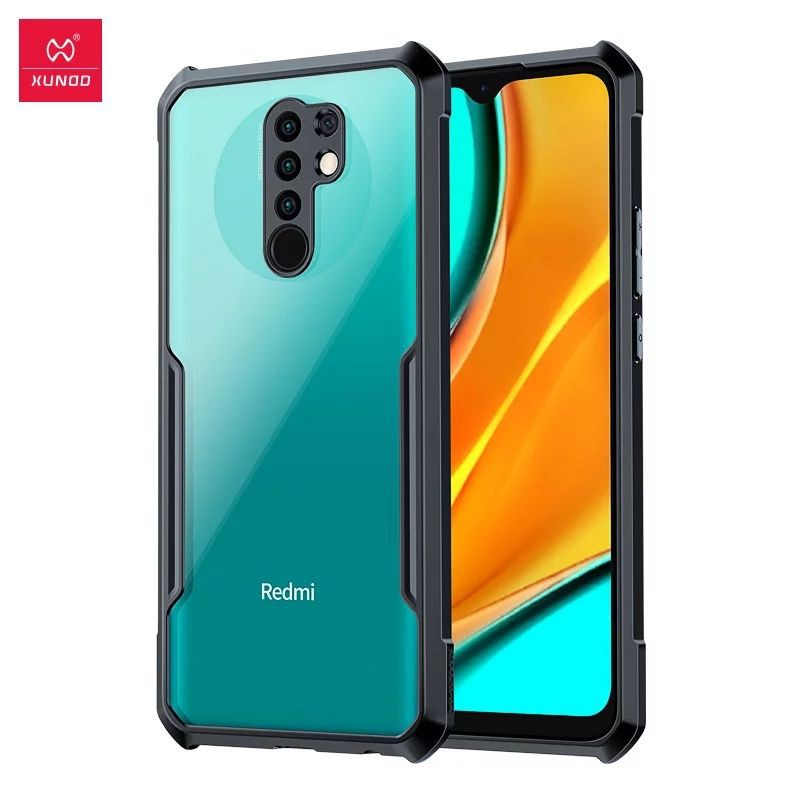 Phone Case For Redmi 9 Case Protective Cover Airbag Bumper Soft Back Shell XUNDD Shockproof Phone Case For Redmi 9A Case