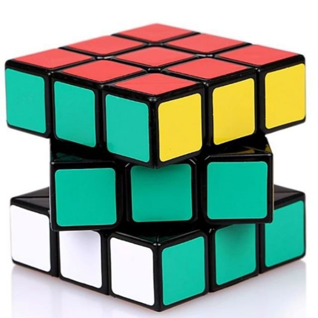 Random Color Magic Cube Game The Puzzle Ultra-Smooth Twist Rubic's