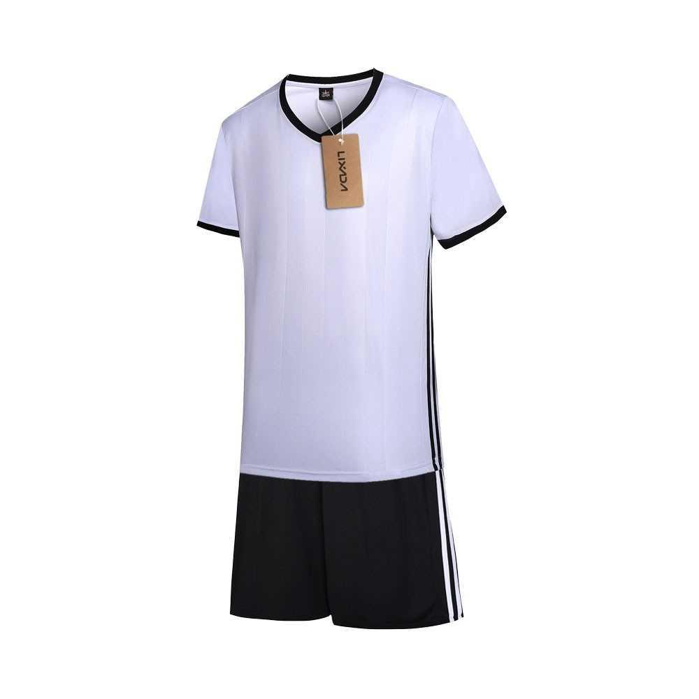 Lixada Football Shirt Uniforms Set (white)