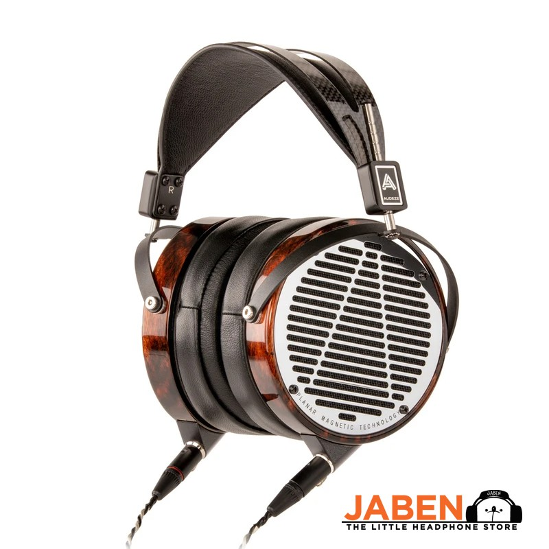 Audeze LCD-4 Flagship Planar Magnetic Hi-Res Wood Detachable Cable Made in USA Open Back Over-Ear Headphones [Jaben]