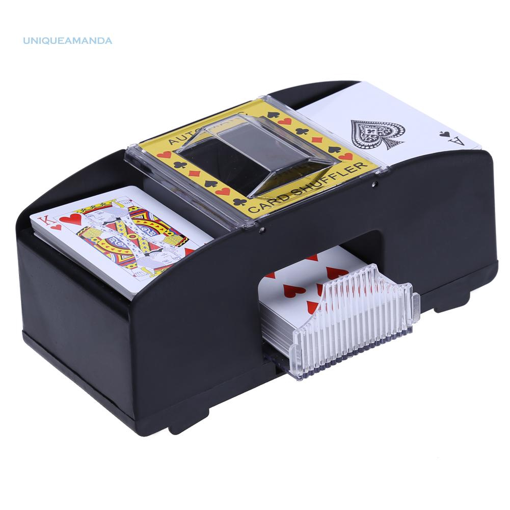 Automatic Playing Cards Shuffler Poker Casino One Two Deck Card