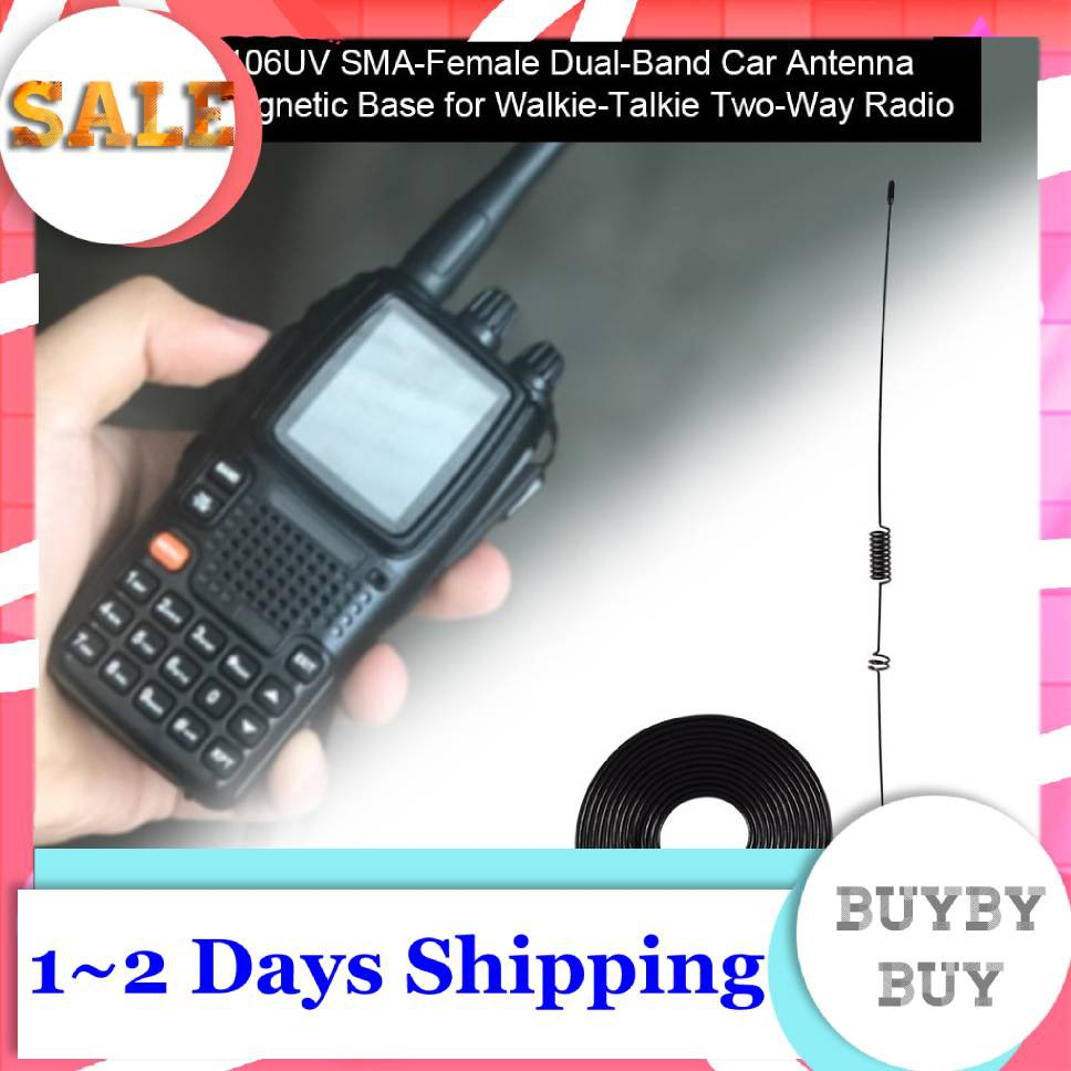 Two-Way Base Walkie-Talkie Magnetic with for UT-106UV Car Radio Dual-Band