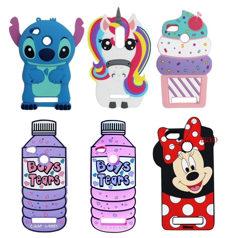 3d Case For Xiaomi Redmi 3s Cute Cartoon Mobile Phone Soft Silicone Silikon Stitch Xiaomiredmi3s Casing Cover Shopee Malaysia