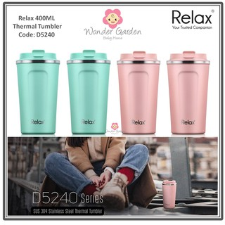 Flask 360ml Stainless Steel Strawd2636 Relax Thermal With Kids xoCdeB