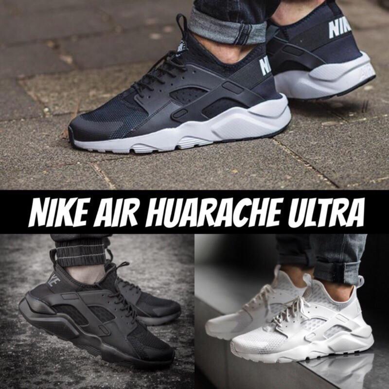 huge discount 80767 31e9b Nike Air Huarache 318429-601 Cedar Black Deep Bur   Shopee Malaysia