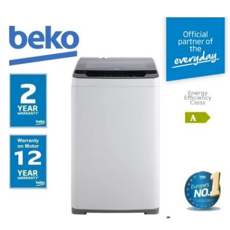 Beko 8KG Automatic Top-Loading Washing Machine | BTU8086W (Washer,Top Loader,Mesin Basuh,洗衣机)