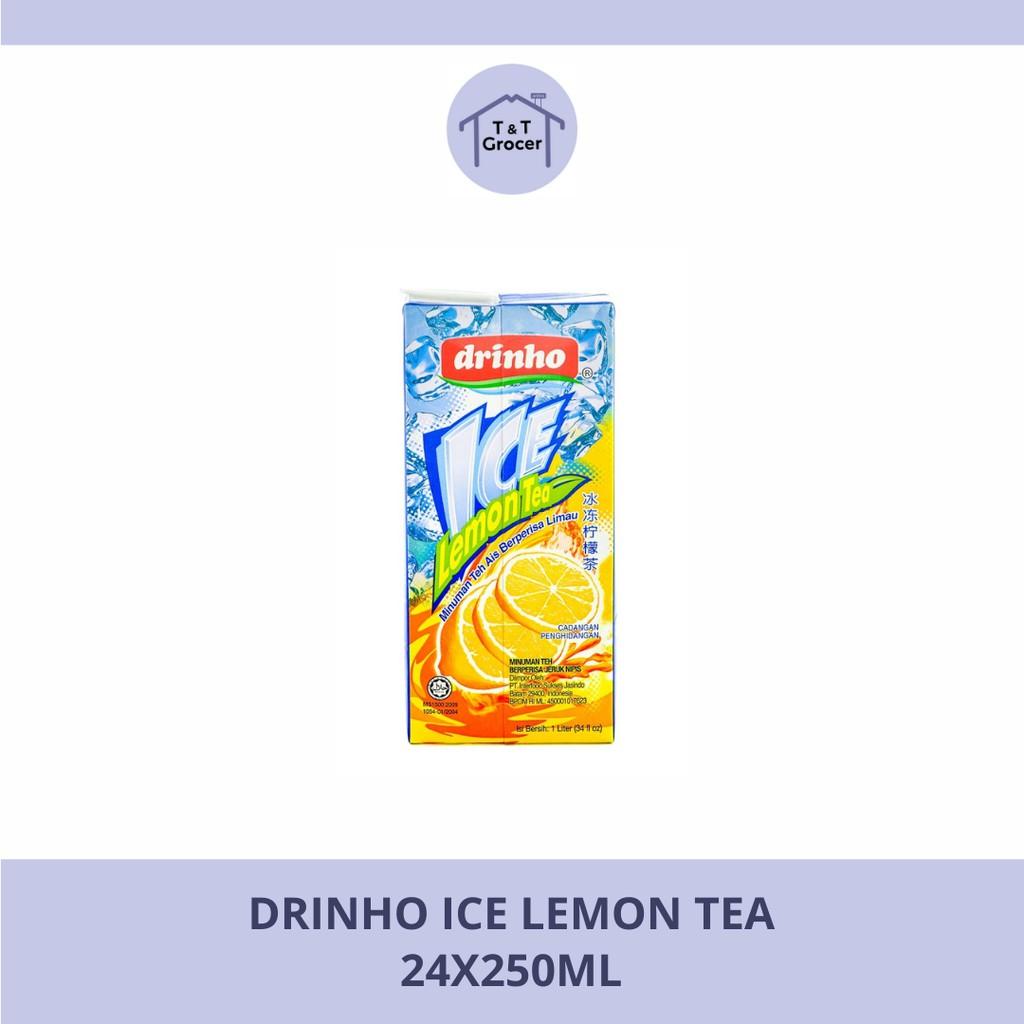 Drinho Minuman 24x250ml (Bunga/ Teh Lemon Ais/ Kundur/ Laici/ Manga/ Oren/ Soyabean/ Tebu/ Jagung)