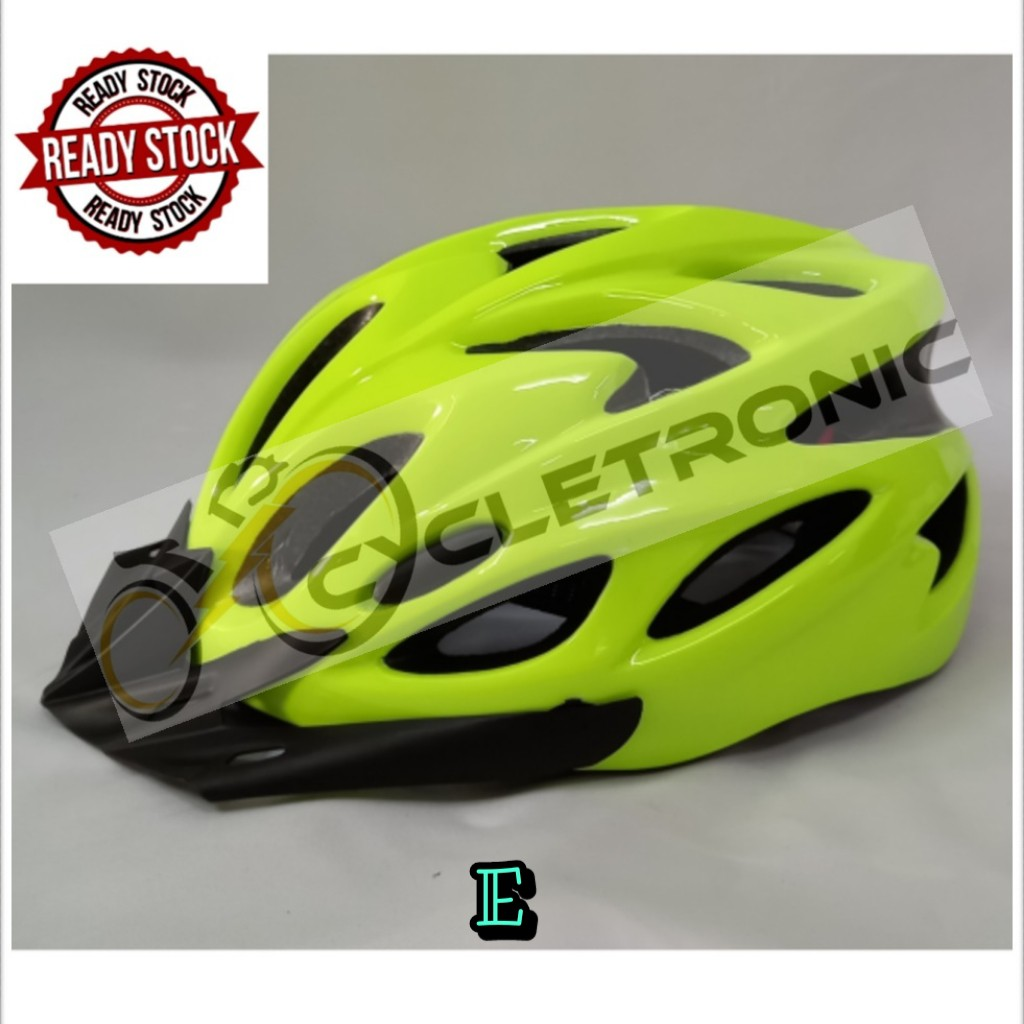 [Ready stock]Cycletronic Cycling Helmet Adult Mountain Road Bicycle Helmet Adjustable
