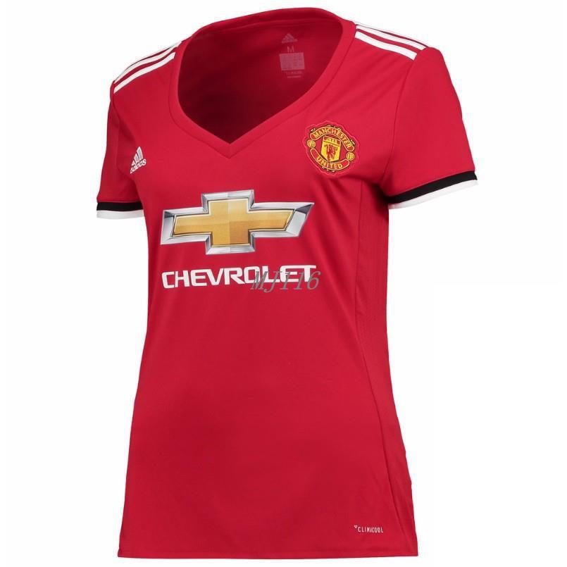 erikoismyynti online jälleenmyyjä hyvä palvelu 17/18 Manchester united Women Jersey football jersey