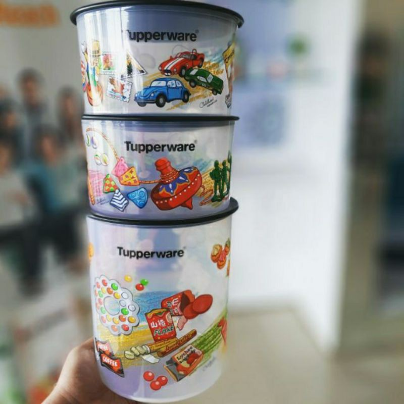 Tupperware Childhood Memories One Touch 3pcs