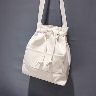 15d0c8ea1825 BL☆Women Summer Bucket Bag Drawstring Small Messenger Casual Canvas ...