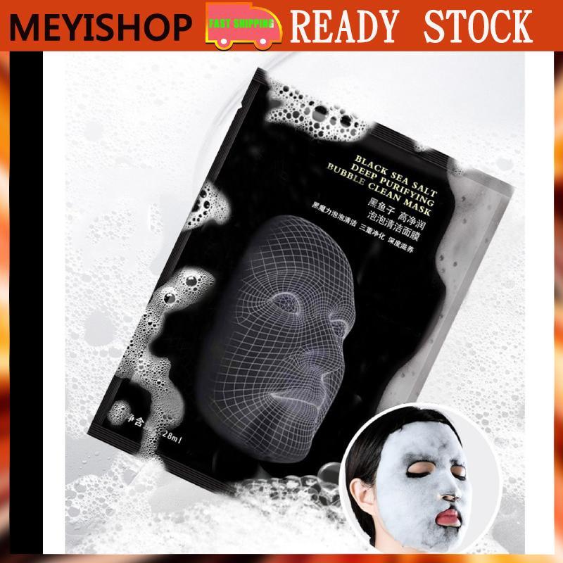 MEYISHOP 28ml Bubble Facial Mask Face Moisturizing Deep Cleaning Mask Shrink Pores Face Care