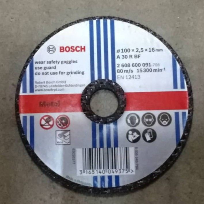 BOSCH Original Metal Cutting Disc 4