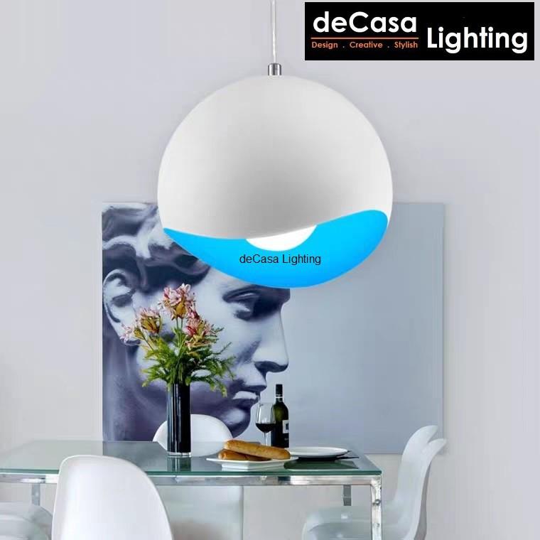 Designer Pendant Light DECASA LIGHTING Modern Style Ceiling Light E27 Holder Hanging Lamp Lampu Gantung (ZC1309)