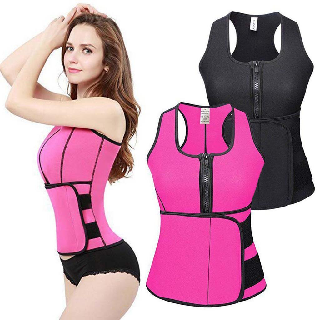 64bfd3aae7 Women Waist Trainer Corset Weight Loss Stomach Shaper Seamless Shaperwear