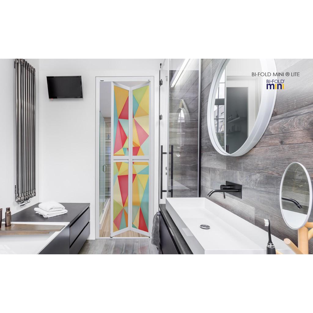 Vitally Bi Fold Mini Toilet Door Shopee Malaysia