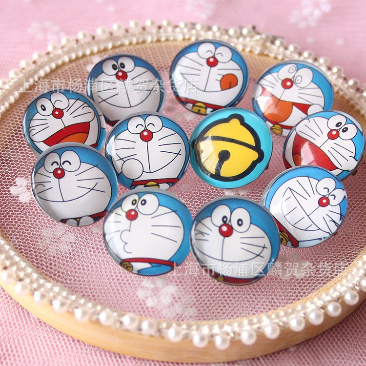 4aed0d9306 1PC Doraemon Brooches Pins for boys Girls Kids Clothes Hats Jewelry Party  Gifts