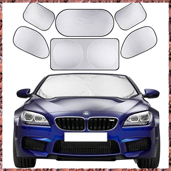 Car Windshield Windscreen Cover Sun Shade Laser Front Rear Window Visor UV /_Ontw