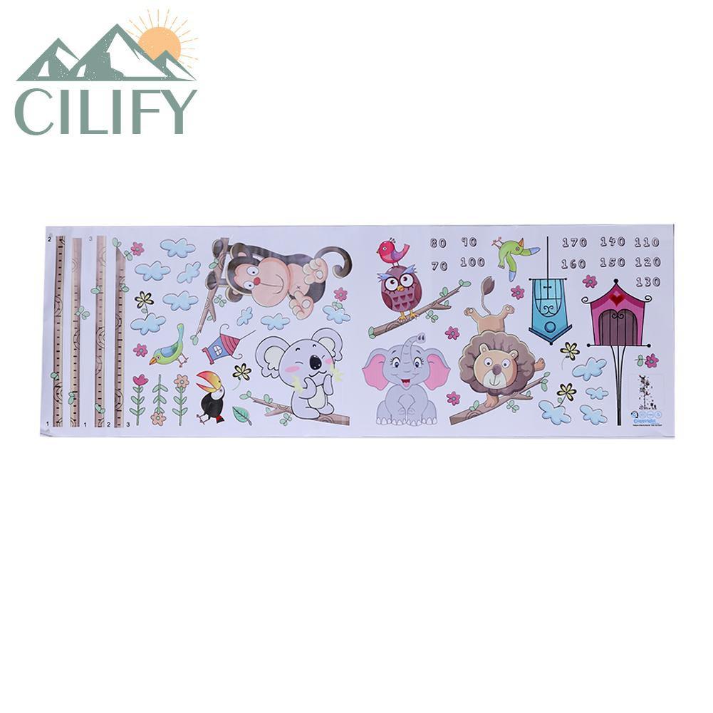Heart-shaped Pattern Wall Sticker Height Measurement Home Kids Wall Decor L/&6