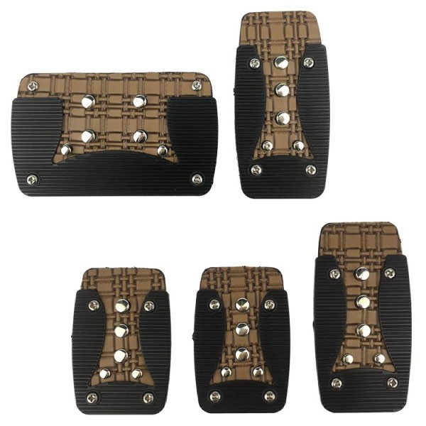 [FREE Gift] [CLEARANCE] RACING DYNAMIC Old School Non Slip Auto/Manual Transmission Pedal Pad Made in Korea