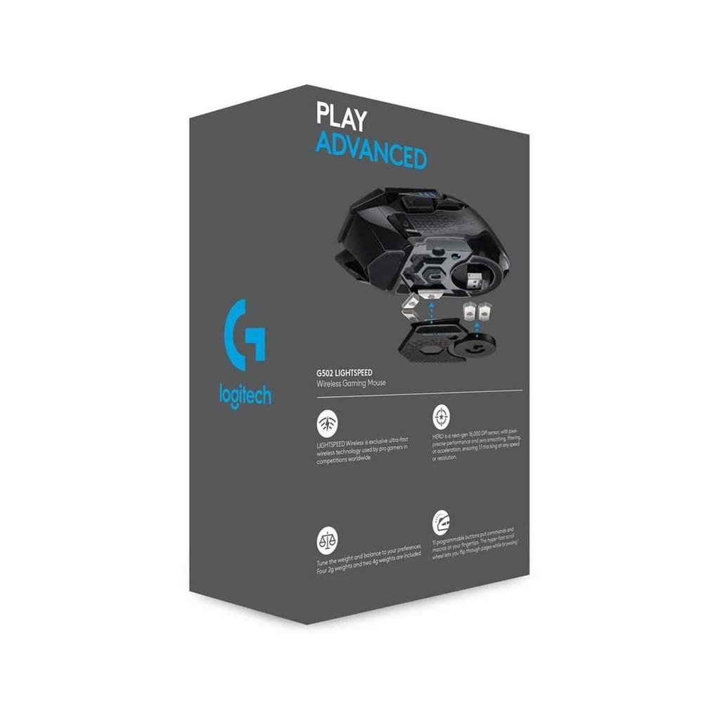 Logitech G502 Lighspeed Wireless Gaming Mouse (910-005569)   Shopee