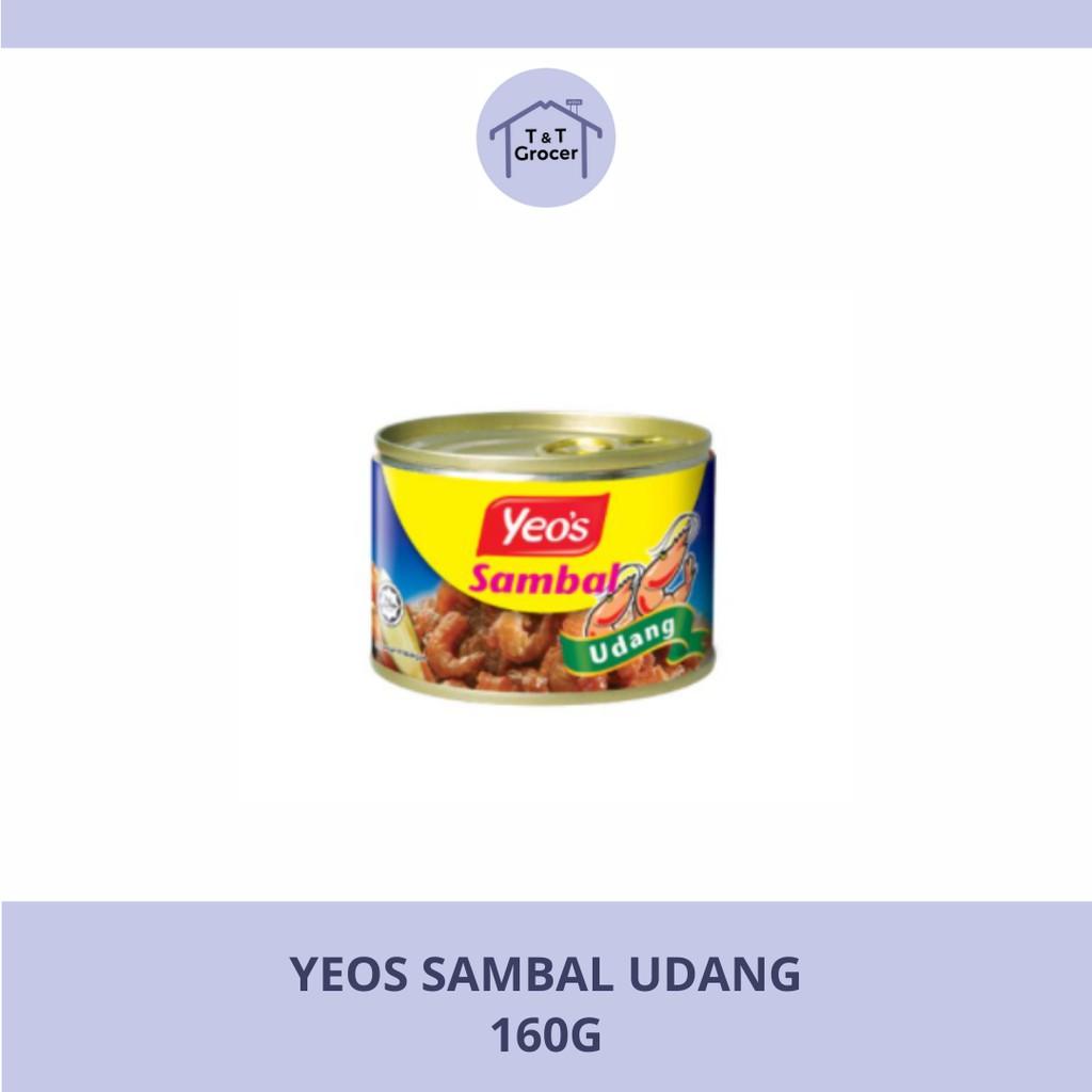Yeo's Canned Food 160g (Kari Kerang/ Sambal Ikan Bilis/ Sambal Udang)