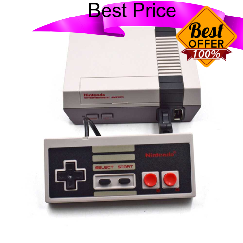 Great Discount EU Edition Classic NES Mini Game Console Clone Handheld Gaming Player with Built-in 30 Games - HD Versio