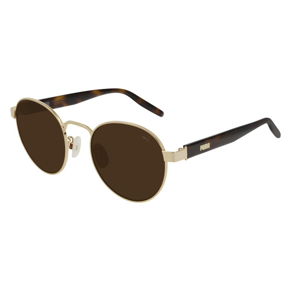 Puma Sunglasses - PU0224S-002 - Gold & Havana & Brown