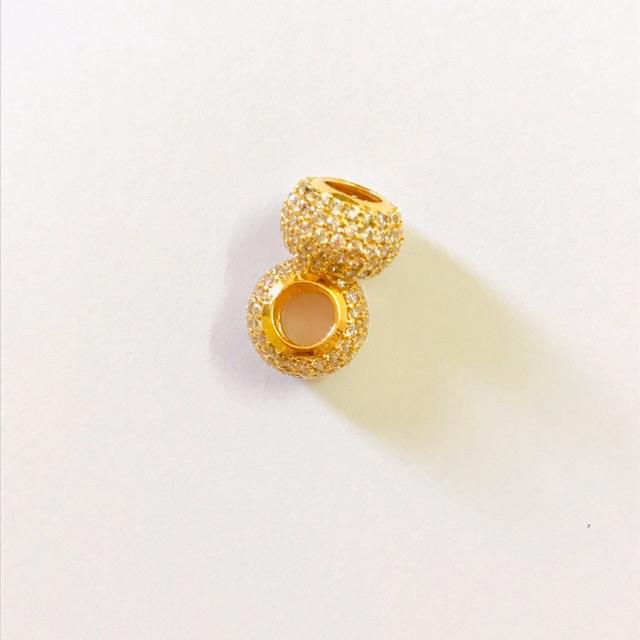 Masdora Charms (Beads) Emas 916 - Colourful Series (916 Gold)