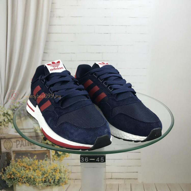 best sneakers f6832 d9eaf Original sports shoes Adidas zx500 Boost Couple shoes Running shoes Casual  shoes