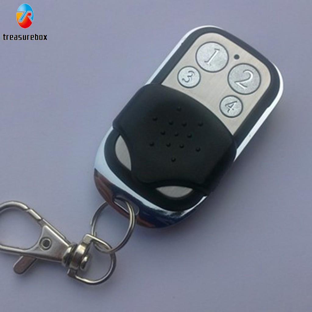 4 Key Wireless Cloning Remote Control Key Fob For Car Garage Door Electric  Gate