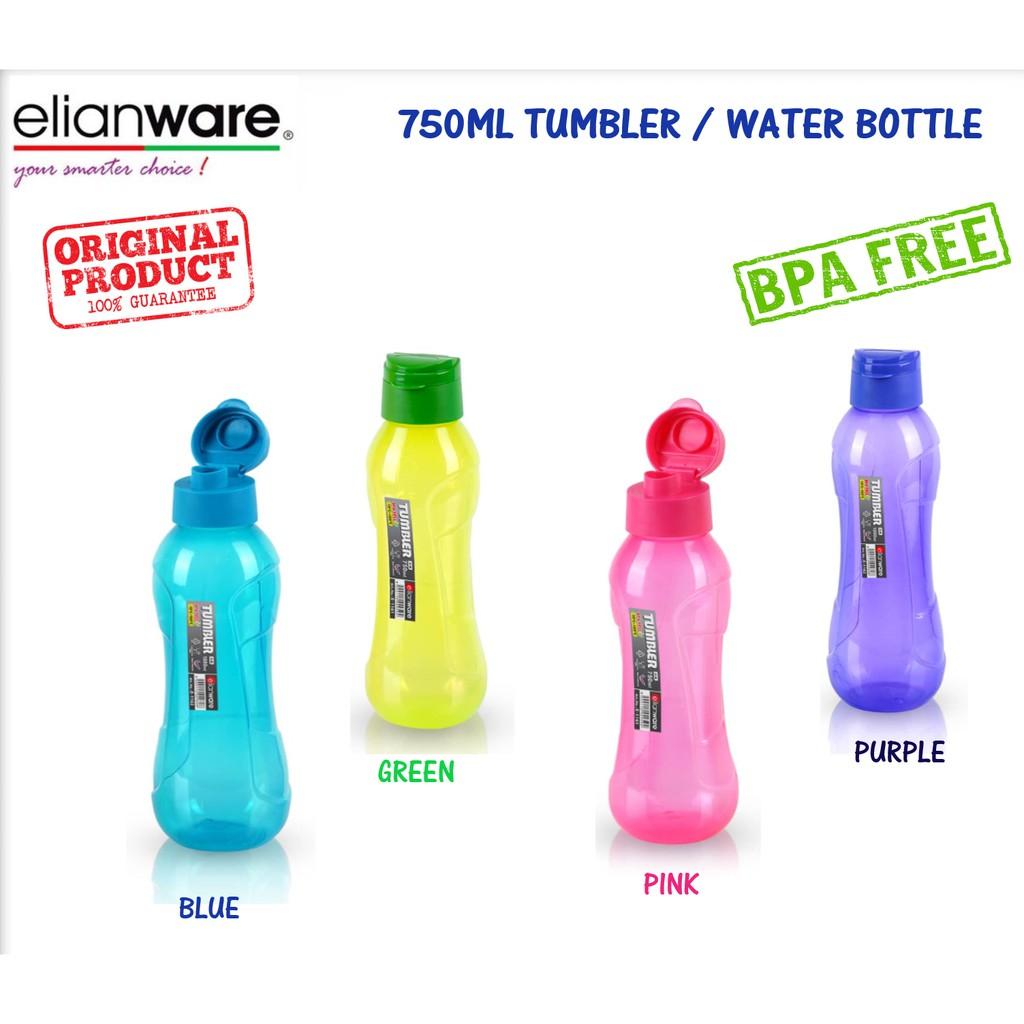 Elianware 750ml Tumbler / Water Bottle Drinking Bottle Air Botol BPA Free