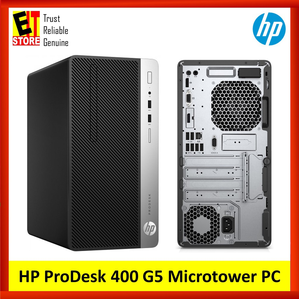 HP PRODESK 400 G5 MICROTOWER PC (I5-8500/4GB/1TB/W10PRO/3YRS  ONSITE)(5DD27PA)